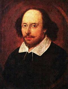 William Shakespeare. Good writer, bad editor.