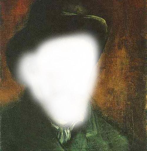 Van Gogh self-portrait